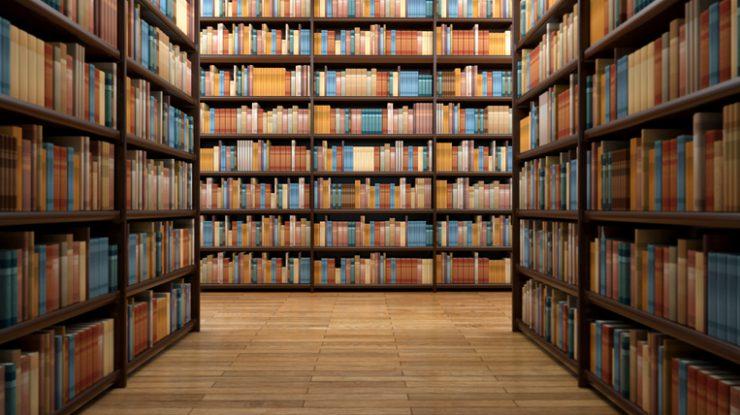 Koppla av på biblioteket